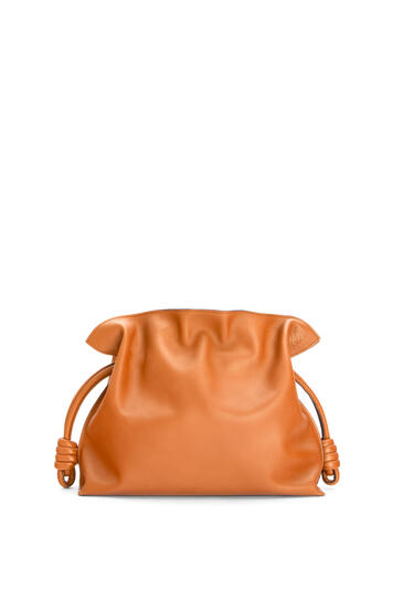 LOEWE Flamenco clutch in nappa calfskin Warm Desert pdp_rd
