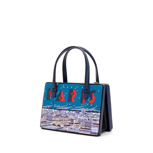 LOEWE Postal Paris Small Bag Marine front