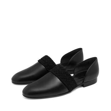 LOEWE Flex Loafer Flat Black front