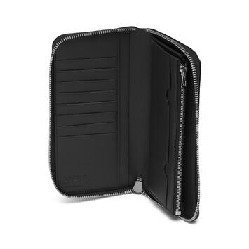 LOEWE Puzzle Open Wallet Black front
