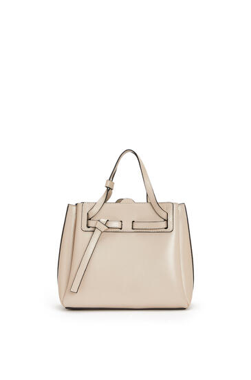 LOEWE Mini Lazo bag in box calfskin Light Oat pdp_rd