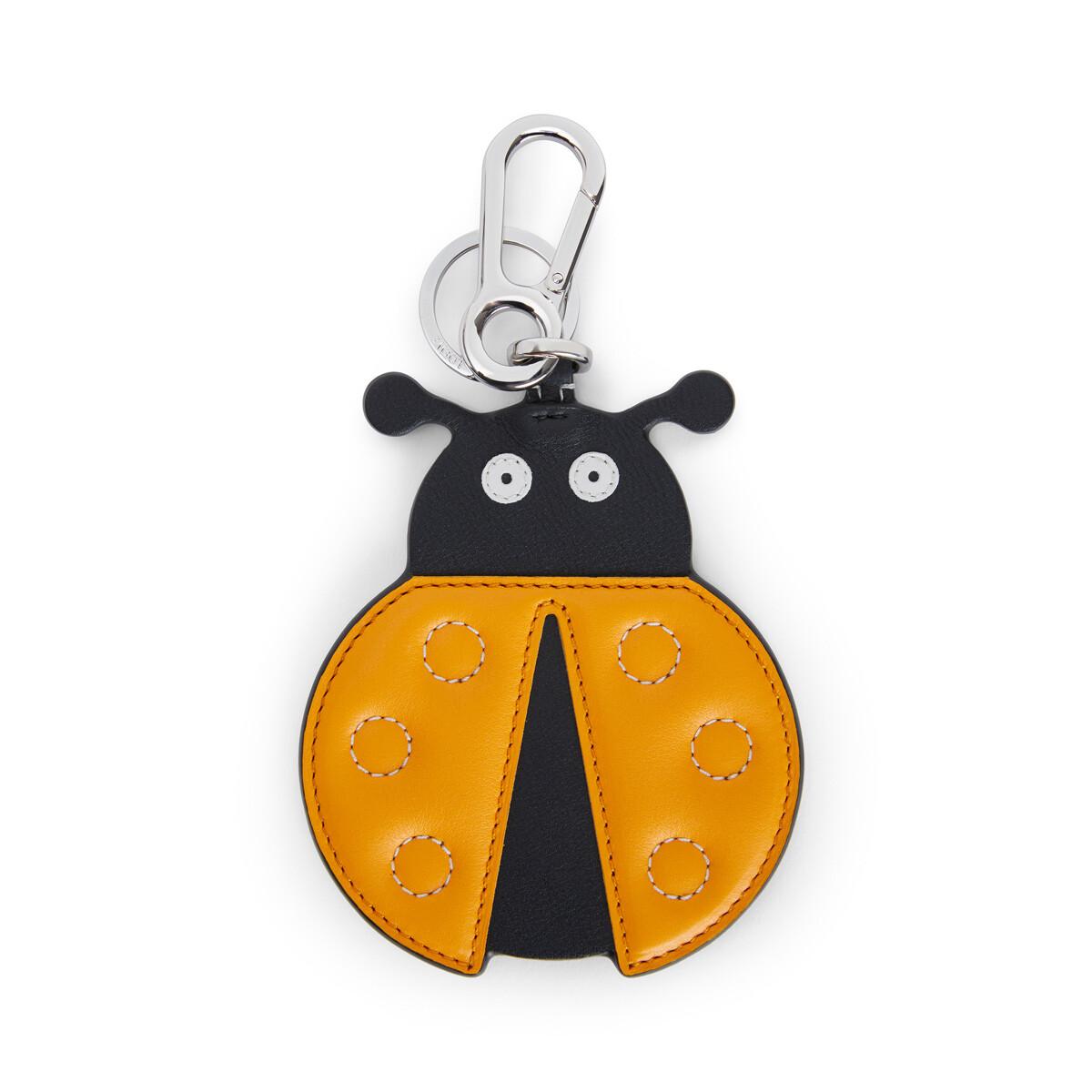 LOEWE Ladybug Charm Orange/Black front