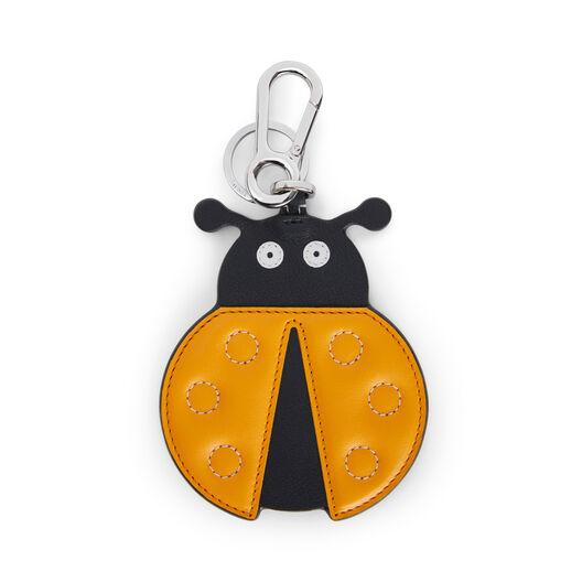 LOEWE Ladybug Charm オレンジ/ブラック front