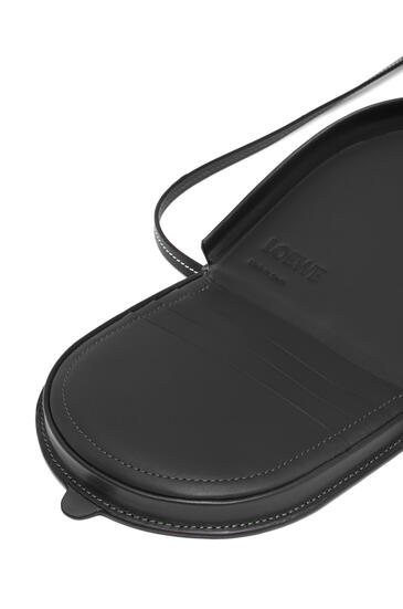 LOEWE Small Heel pouch in soft calfskin Black pdp_rd
