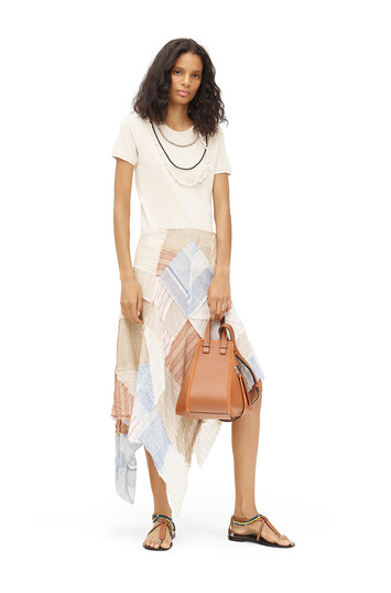 LOEWE Paula Patchwork Skirt Multicolor front