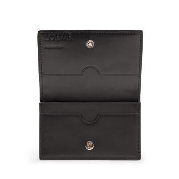 LOEWE Business Card Holder 黑色 front
