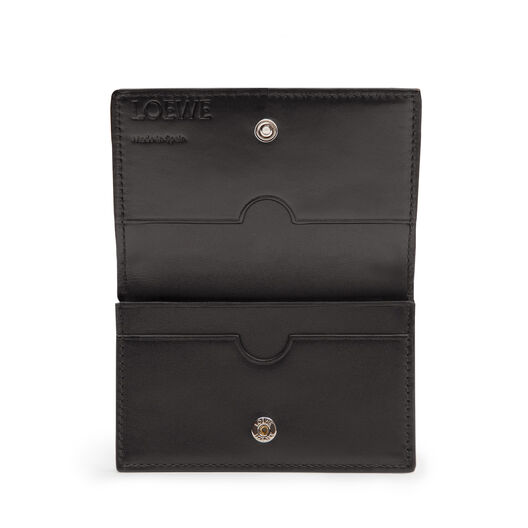LOEWE Business Card Holder Black front