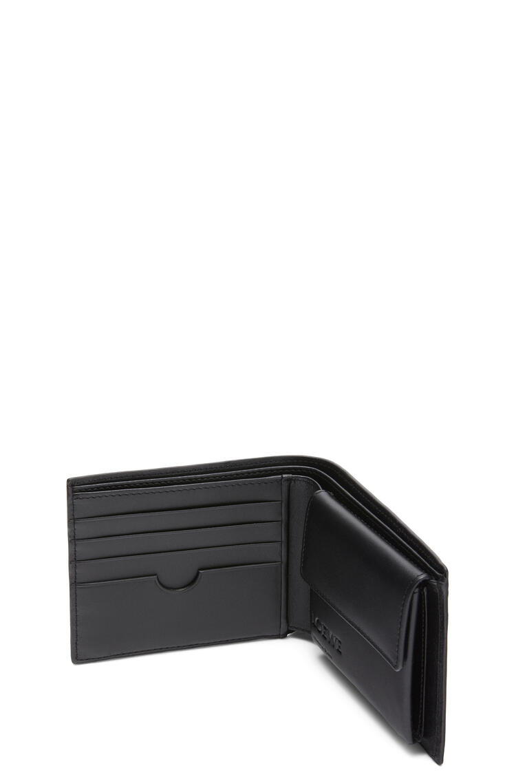 LOEWE Bifold coin wallet in smooth calfskin Black pdp_rd