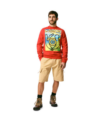 LOEWE Sweatshirt Loewe Eye Rojo front
