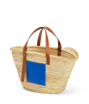 LOEWE Basket Large Natural/Blue front