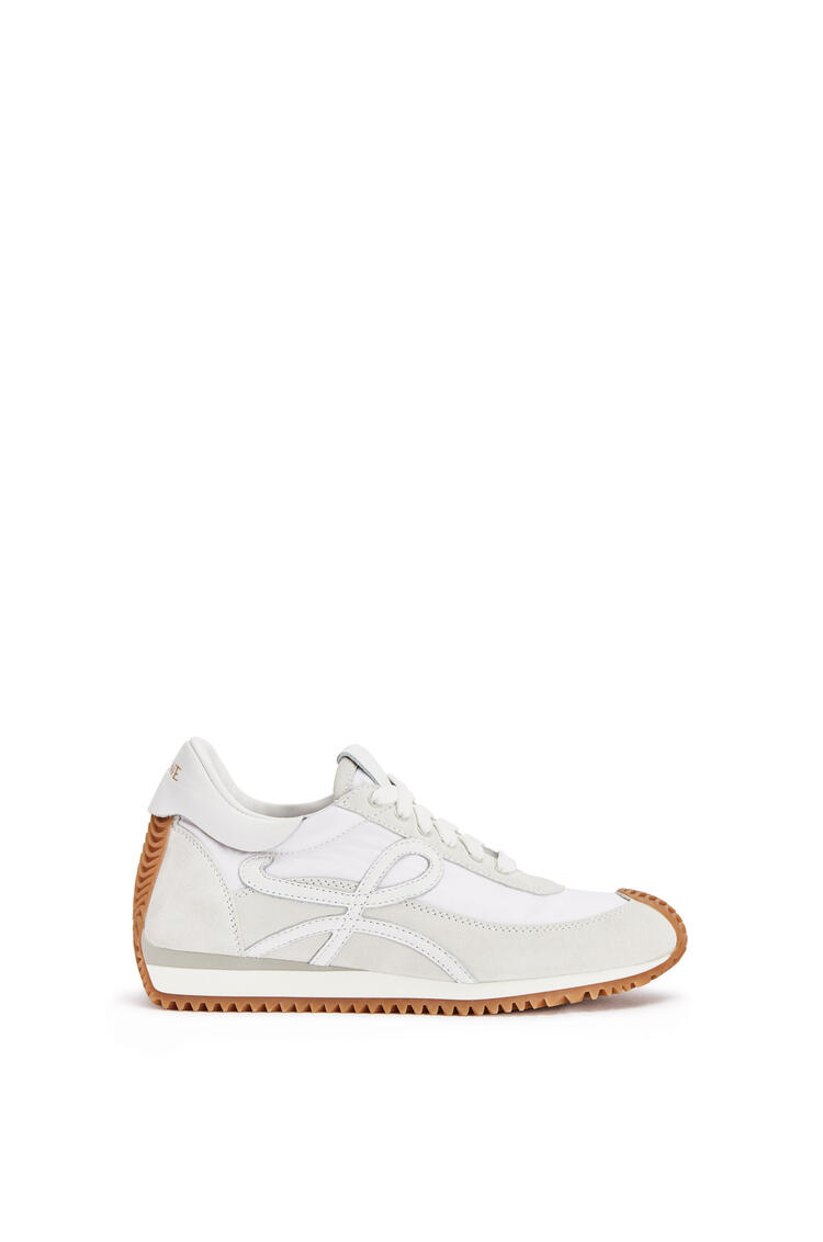 LOEWE Flow runner in nappa and nylon White pdp_rd