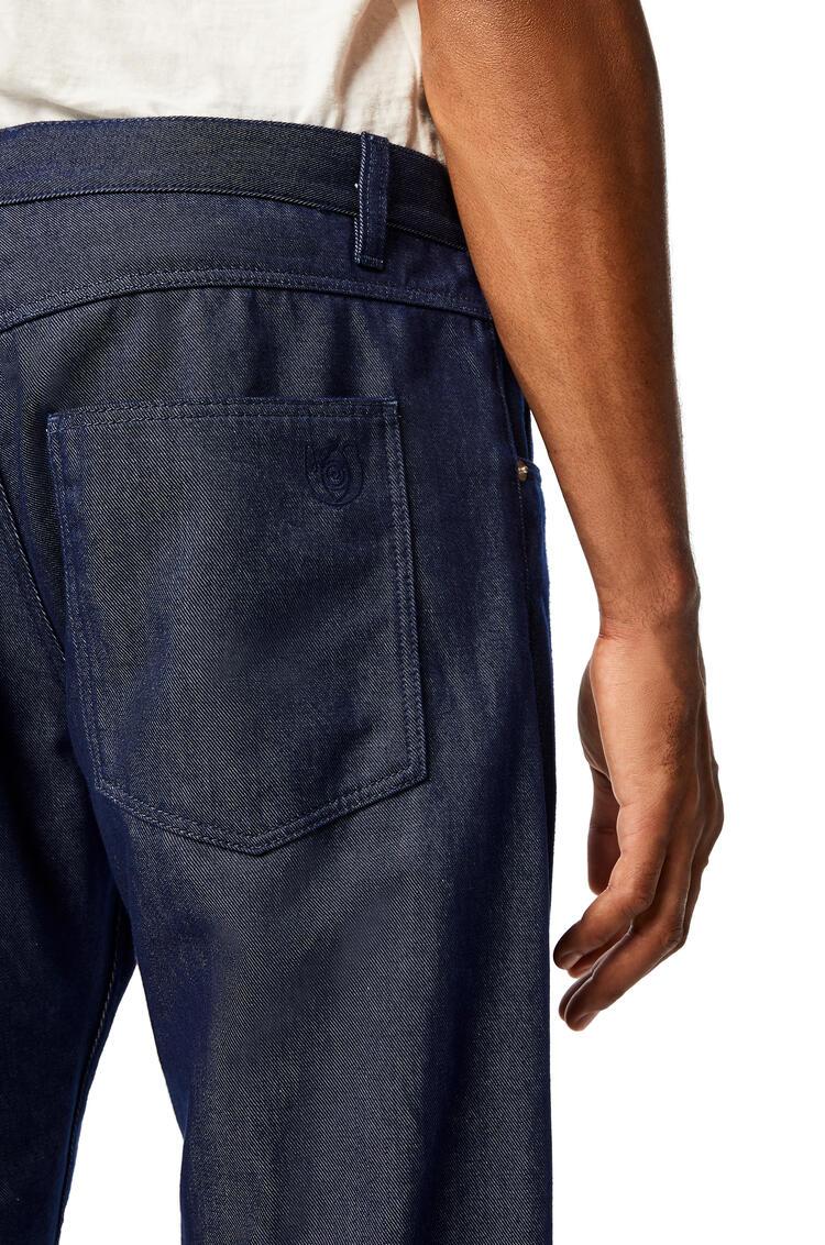 LOEWE 棉质牛仔裤 海军蓝 pdp_rd