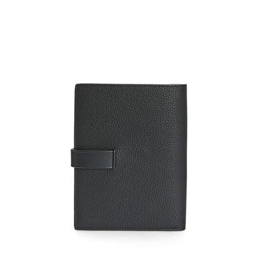 LOEWE Medium Vertical Wallet Black front
