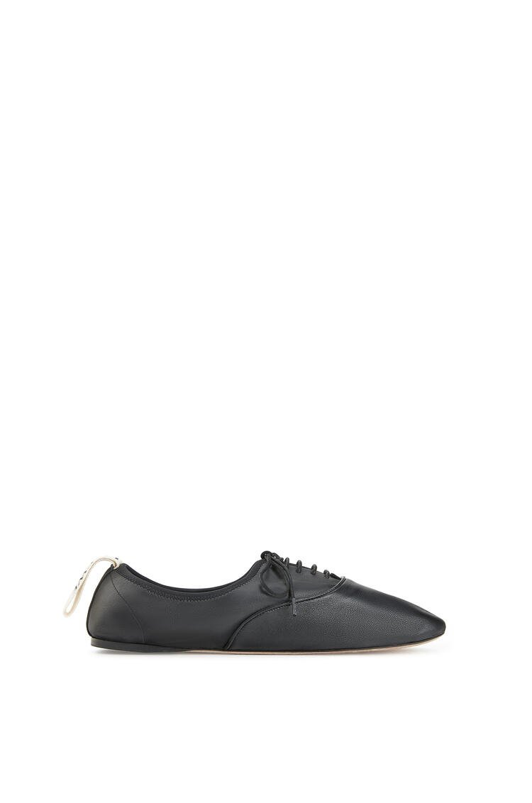 LOEWE Soft Derby in lambskin Black pdp_rd