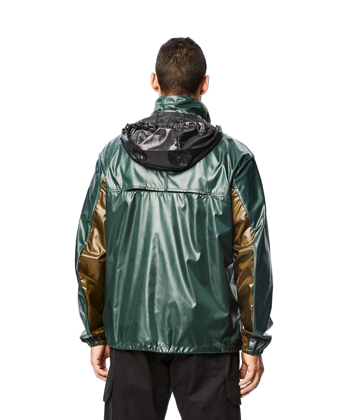 LOEWE Eln Zip Jacket Green front