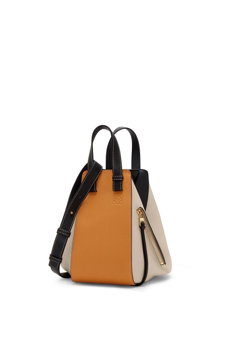 LOEWE Small Hammock bag in classic calfskin Amber/Light Oat pdp_rd