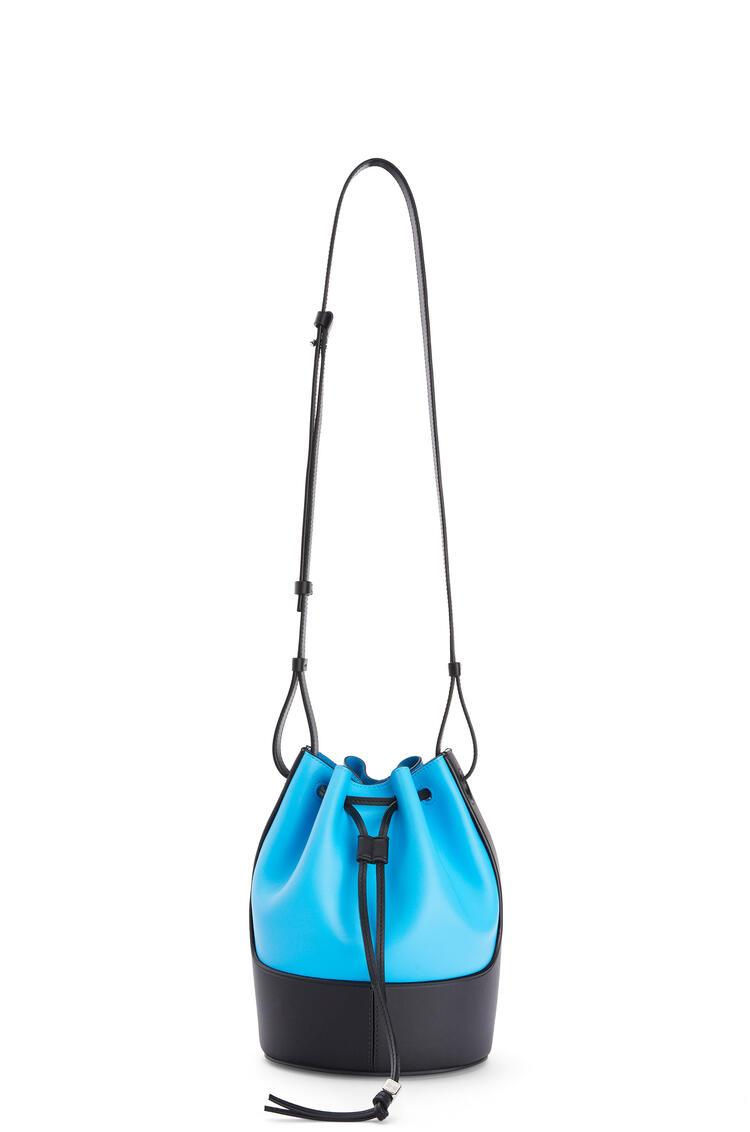 LOEWE Small Balloon bag in nappa calfskin Topaz Blue/Black pdp_rd