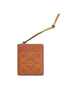 LOEWE Compact zip wallet in classic calfskin Tan/Ochre pdp_rd