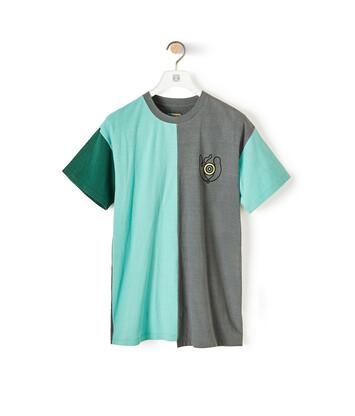 LOEWE Eln Asym Loewe Eye T-Shirt Multicolor front