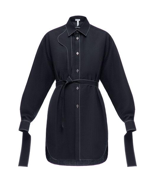 Strap Oversize Shirt