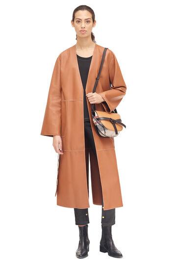LOEWE Coat 棕色 front