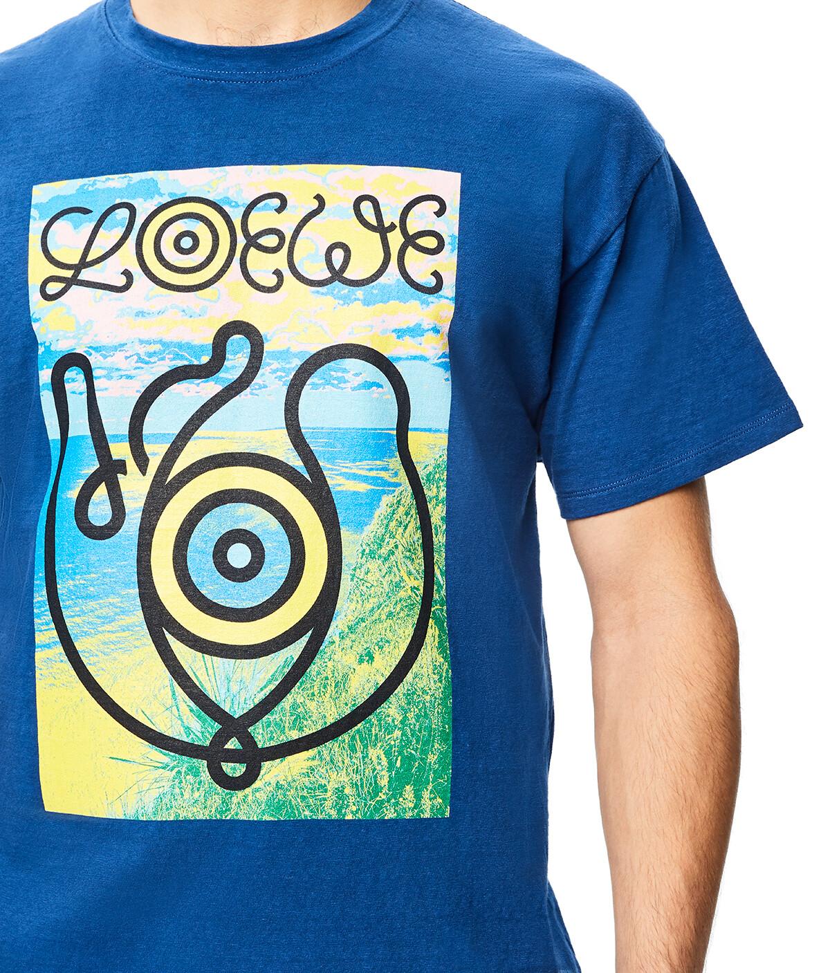 LOEWE Eln T-Shirt Royal Blue front
