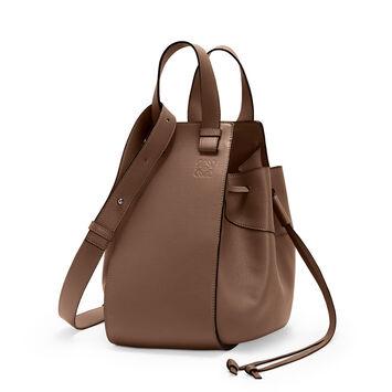 LOEWE Hammock Dw Medium Bag Brunette front