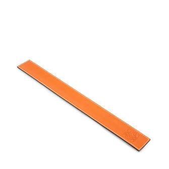 LOEWE スモールスラップブレスレット オレンジ front