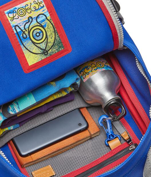 LOEWE Eye/Loewe/Nature Backpack 蓝色/红色 all