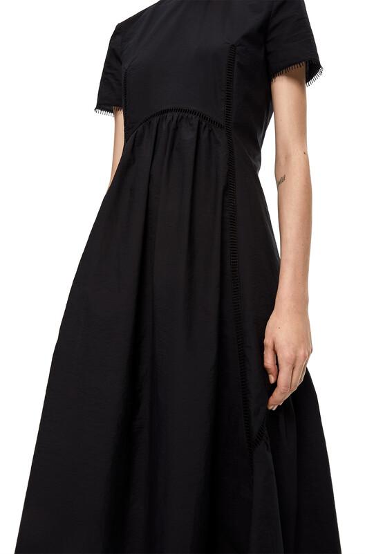 LOEWE Short Sleeve Dress Black front
