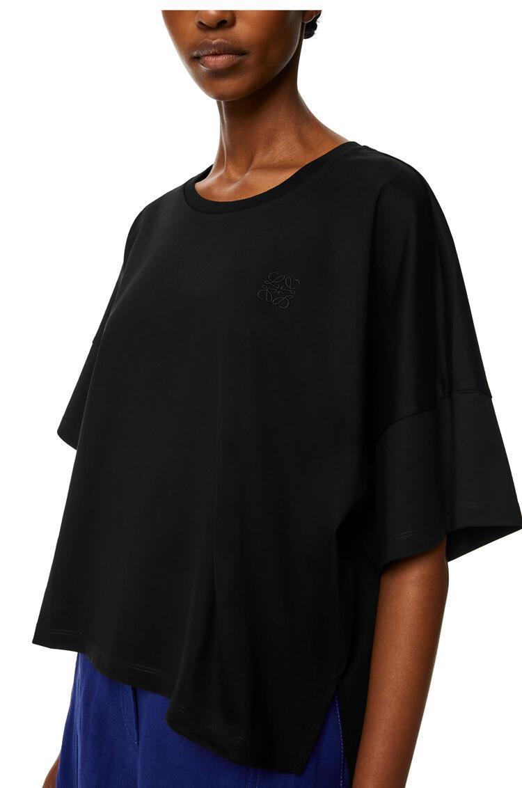 LOEWE 棉质 Anagram 短款T恤 黑色 pdp_rd