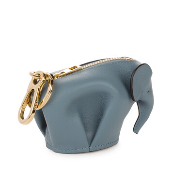 LOEWE Elephant Charm 石灰藍 front