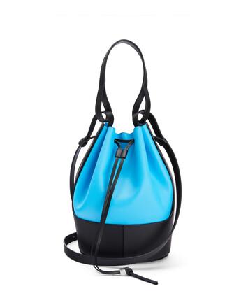 LOEWE Balloon Bag Topaz/Black front