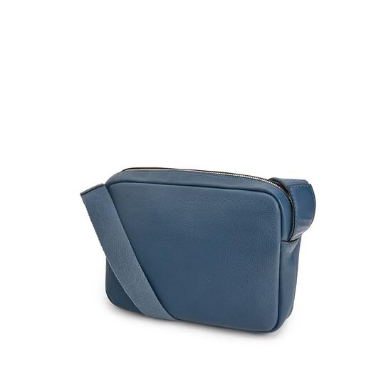 LOEWE Military Messenger Xs Bag 靛藍 front