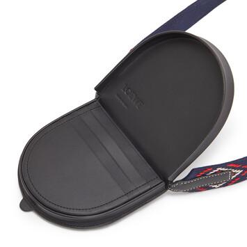 LOEWE Paula Large Heel Pouch Black/Multicolor front