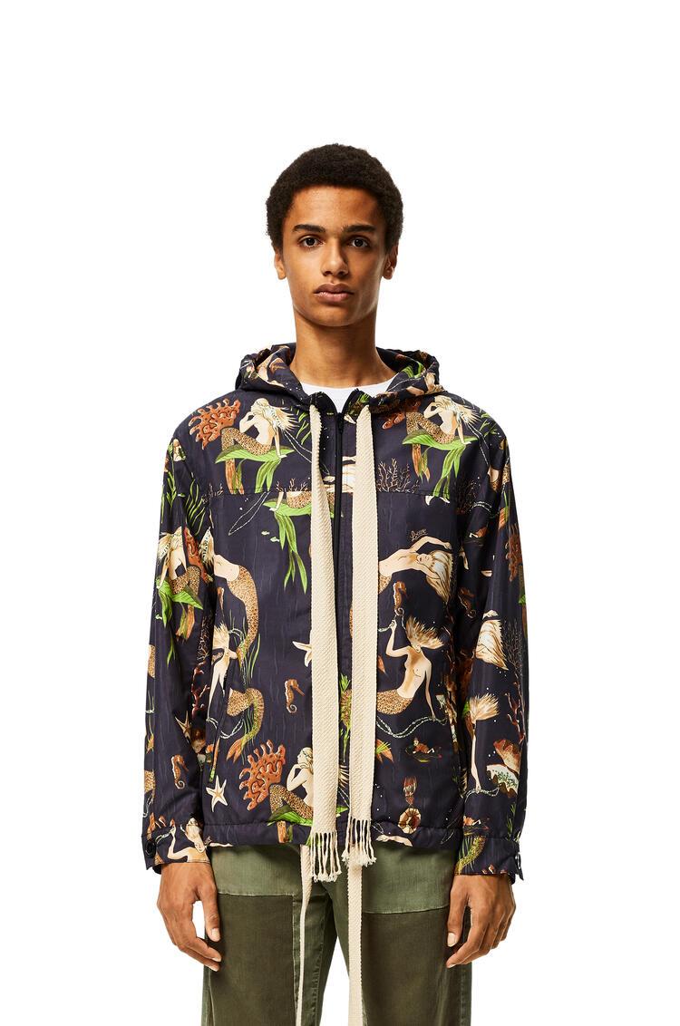 LOEWE Hooded jacket in mermaid Black pdp_rd