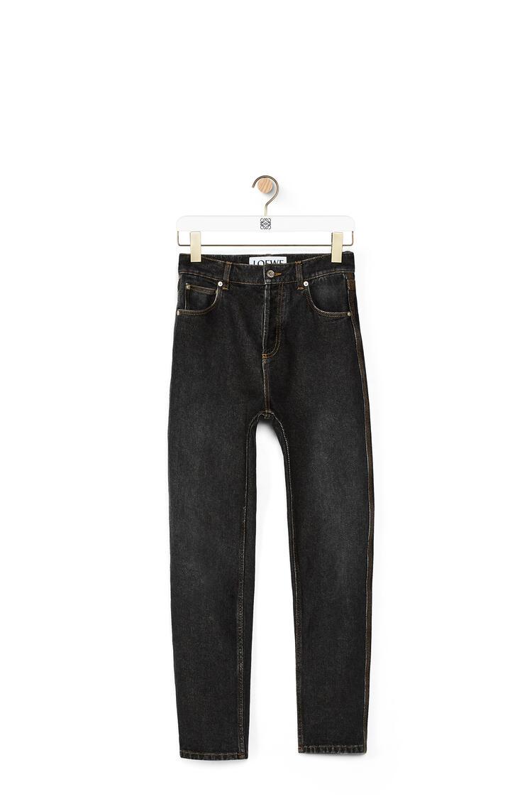 LOEWE 锥形五袋牛仔裤 黑色 pdp_rd