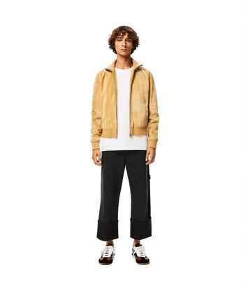 LOEWE Zip Jacket 金色 front