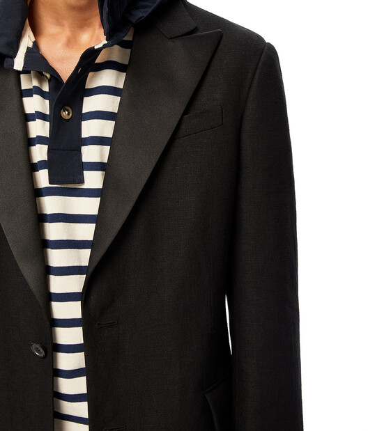 LOEWE 3Bt Jacket Black front