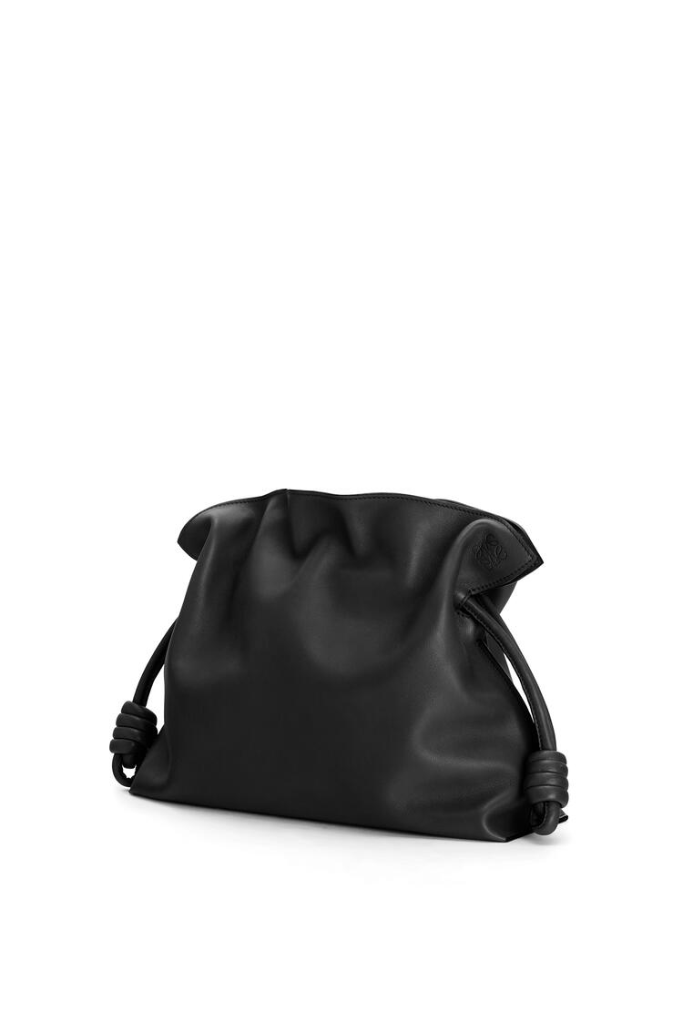 LOEWE Flamenco clutch in nappa calfskin Black pdp_rd