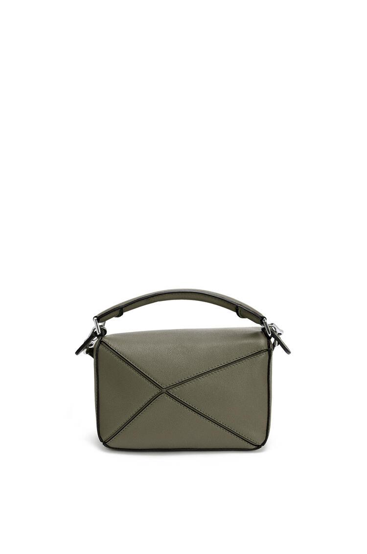 LOEWE Mini Puzzle bag in classic calfskin Khaki Green pdp_rd