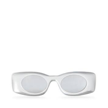 LOEWE Paula's Ibiza Original Sunglasses In Acetate 銀 front