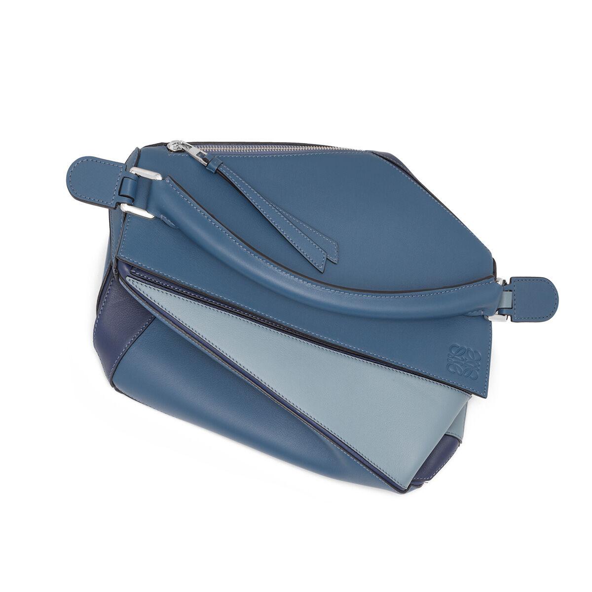 LOEWE Bolso Puzzle Azul Varsity Multitono all