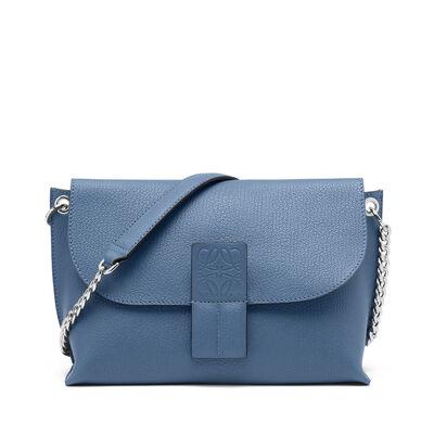 LOEWE Avenue Bag Varsity Blue/Stone Blue front