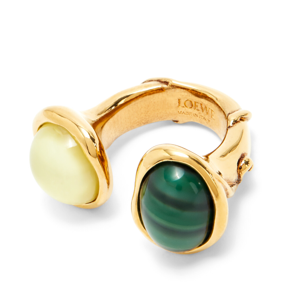 LOEWE Tree Ring Yellow/Green front