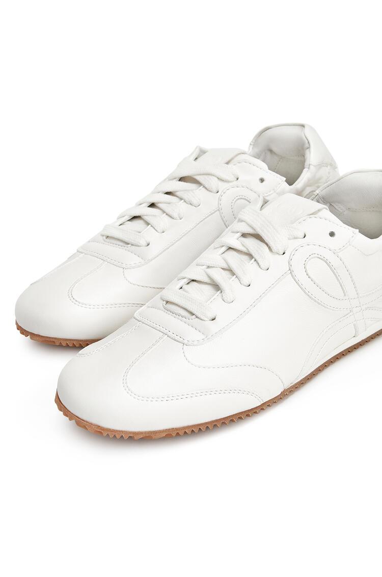 LOEWE Ballet Runner In Lambskin Soft White pdp_rd