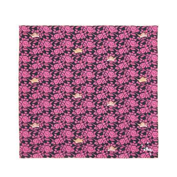 LOEWE 90X90 Paula Print Scarf Pink front