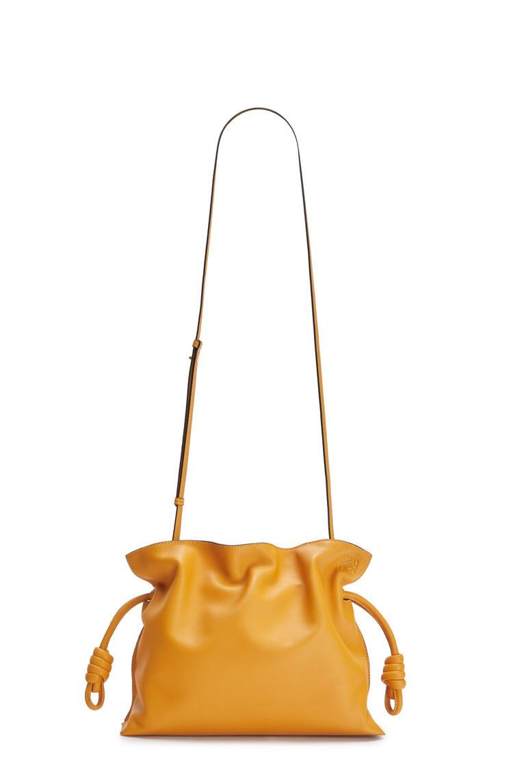 LOEWE Flamenco clutch in nappa calfskin Narcisus Yellow pdp_rd