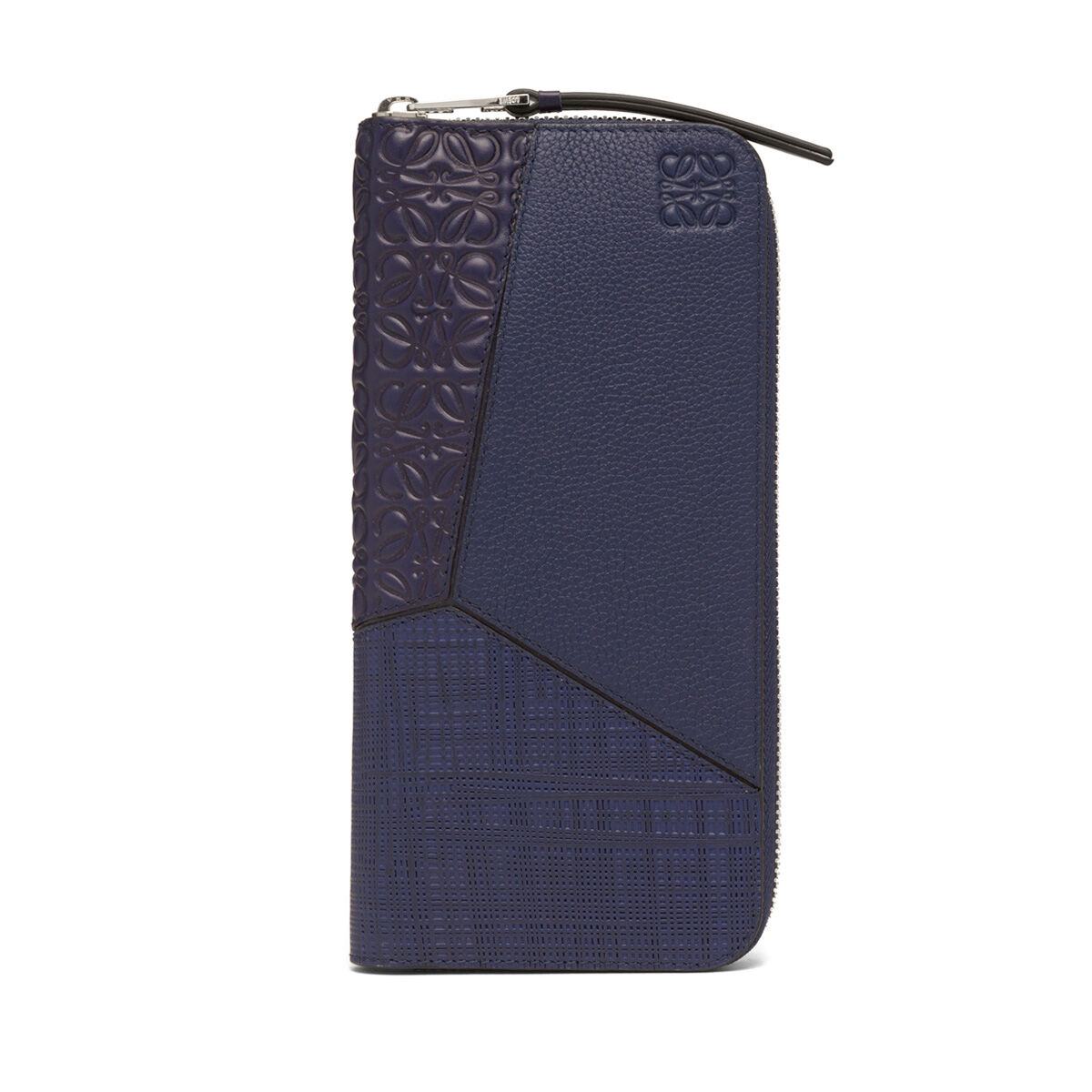 LOEWE Puzzle Multitexture Open Walle Navy Blue all