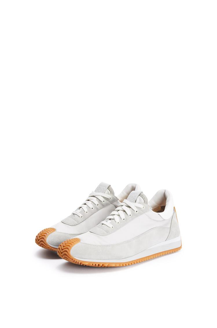 LOEWE 织物流畅跑鞋 grey/white pdp_rd